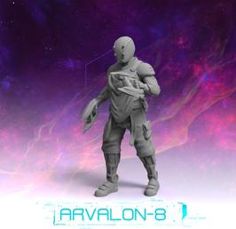 Arvalon Crew Skizzix Zapper