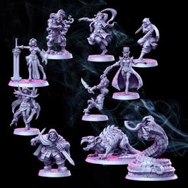 Diebe & Assassinen Set 10 Miniaturen