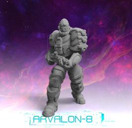 Arvalon Crew Gix Alien Bruiser