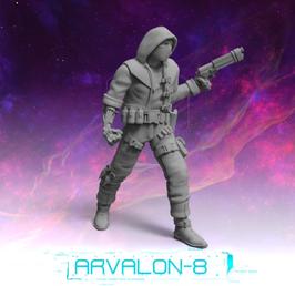 Arvalon Crew Elliot augmentierter Killer