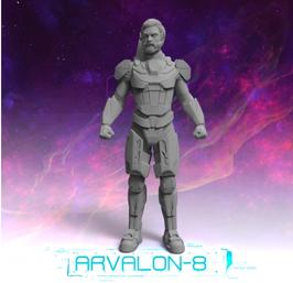 Arvalon Crew Brian Walker Gentleman