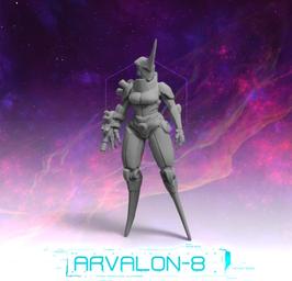 Arvalon Crew Elnara Cyborg Assassine
