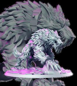 Fangir gigantischer Werwolf