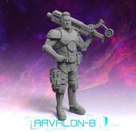 Arvalon Crew Vasei Kolcha Waffenexperte