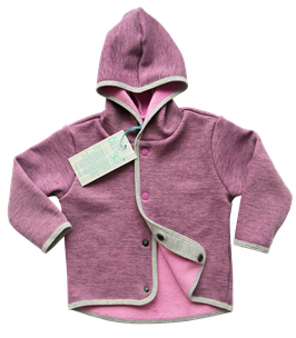 Powerstretch Kinderjacke - violet