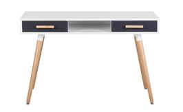 Schreibtisch weiß/grau