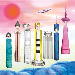 "CARD ""FASHIONABLE SKYLINE"""