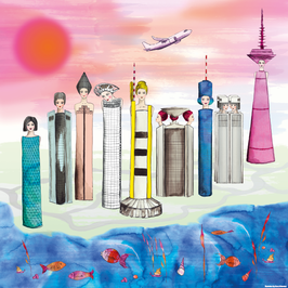 "PRINT ""FASHIONABLE SKYLINE FRANKFURT"""
