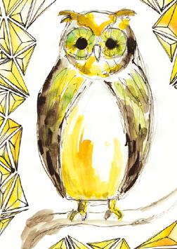 """CARD """"OWL"""""""