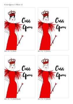 """DIGITALE Datei """"Crisis Queen"""" für DIN A6"""