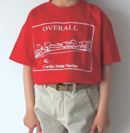 Camiseta Roja Overall
