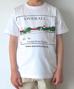 Camiseta Blanca Overall