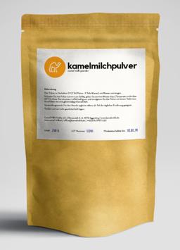 Kamelmilch Pulver Trinkkur 350gr=14 Portionen zu je 25gr
