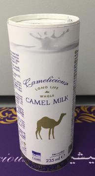 12 Dosen (a-235ml) Kamelmilch aus Dubai der Marke Camelicious