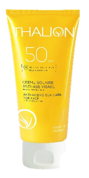 Crème Solaire Visage Anti-âge FPS50   /  50 ml