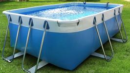 Kit piscina fuori terra Bluepool24 Comfort 2x5 h100
