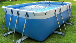 Kit piscina fuori terra Bluepool24 Comfort 3x5 h100