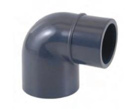 PVC gomito 90° ridotto per incollaggio