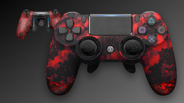 EMR付属 SCUF INFINITY PRO Digital Camo Red SCUF GRIP