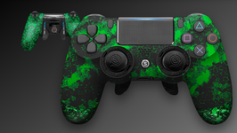EMR付属 SCUF INFINITY PRO Digital Camo Green SCUF GRIP