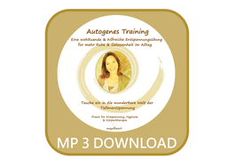 Tiefenentspannung - MP3 - Autogenes Training