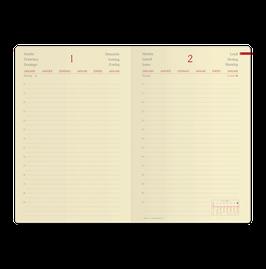 Quo Vadis Kalender 2020 Daily 21 - 13x21cm