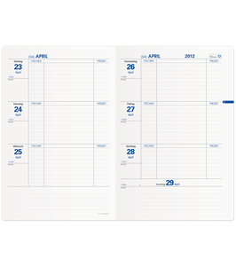 Quo Vadis Lehrerkalender - Texthebdo 16x24cm - Schuljahr 2021/2022