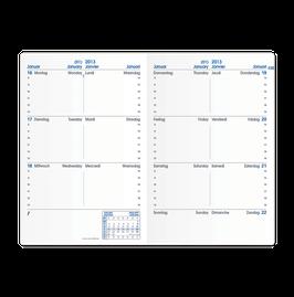 Quo Vadis Kalender 2021 Sapa X  - 10x15cm