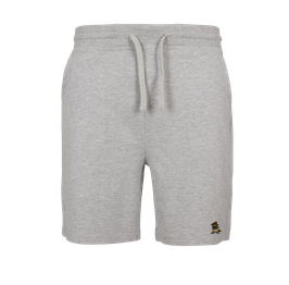 "Short Joggingpants ""Racoonigan"" Heather Grey"