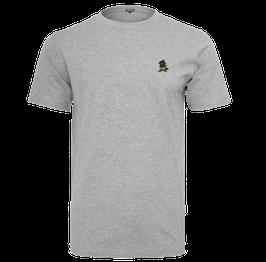"T-Shirt ""Racoonigan Refined"" Heather Grey"