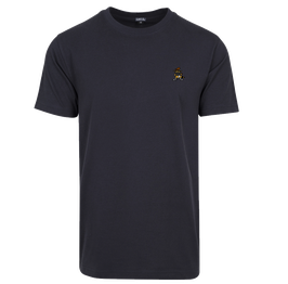 "T-Shirt ""Racoonigan Refined"" Navy"