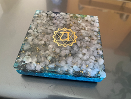 Heart Chakra Luxe Orgonite ™ Coaster