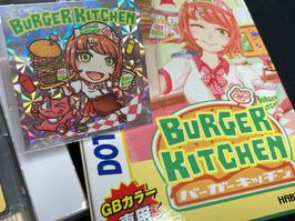 【プリズムシール付き】バーガーキッチンGB