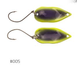 Labaratorio Fishing Foglia Metallica 2,8g 005
