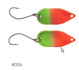 Labaratorio Fishing Foglia Metallica 2,8g 004
