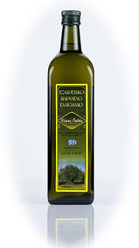 1 Liter Flasche HellaSan Olivenöl