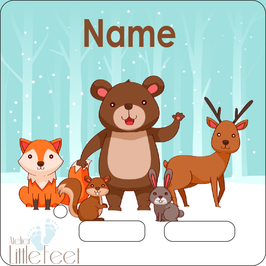 Wintertiere ( für alle Boxfarben erhätlich)