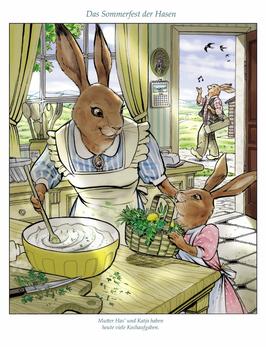 Das Sommerfest der Hasen_Küche. P0S12.