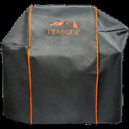 Traeger Allwetter-Abdeckhaube für Timberline 850 mit Logo