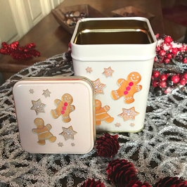 Gingerbread tea tin