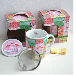 "Herb Tea Cup ""Palila"""