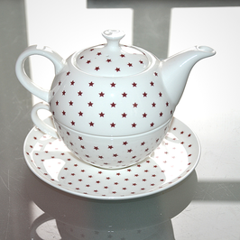 "Tea-for-one cup "" Red Stars"""