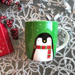 Xmas mug Pinguin