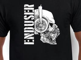 Enduser Shirt - Sonic Terror Skull