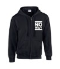 No Way - Hooded Zip - Classic Logo