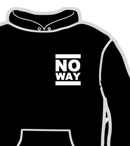No Way - Logo - Hooded Sweat_PRE-ORDER 03_2020