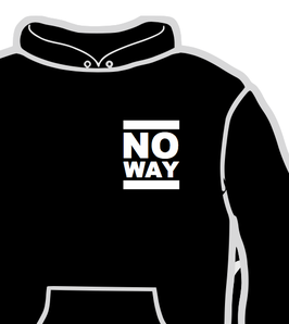 No Way - Hooded Sweat - Classic Logo