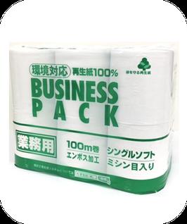 ビジネスパック 12ロール シングル  【業務用】