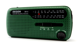 Degen DE 13 Dynamo/Solar-Notfallradio
