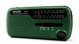 Degen Kurbelradio DE13 Dynamo/Solar-Notfallradio